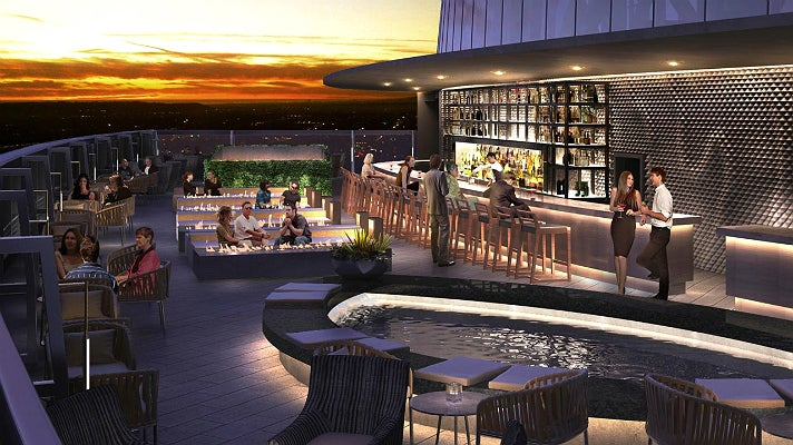 Sky Deck at InterContinental Los Angeles Downtown