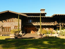 "The Gamble House aka Doc Brown's house in ""Back to the Future"""