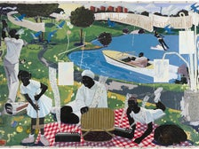 "Kerry James Marshall, ""Past Times,"" on view at MOCA Grand Avenue"