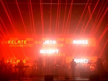 Massive Attack live on stage