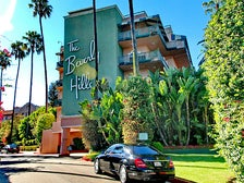 Entrance to The Beverly Hills Hotel