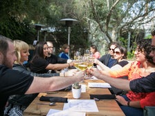 Raising a glass with Avital Tours at Plant Food + Wine Venice