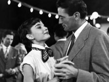 """Audrey Hepburn and Gregory Peck in """"Roman Holiday"""" (1953)"""