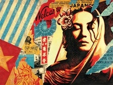 """Shepard Fairey, """"Welcome Visitor,"""" 2017"""