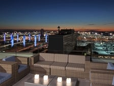 Rooftop deck at H Hotel Los Angeles, Curio Collection by Hilton