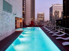 Rooftop pool at The Standard Downtown L.A.