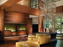 Lobby at Warner Center Marriott Woodland Hills