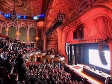 Performance at The Orpheum Theatre during Night on Broadway