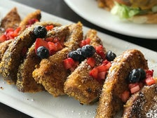 Crunch French Toast at Blu Jam Cafe in Tarzana