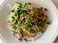 """Terrific"" Pad Thai kelp noodles at Café Gratitude"