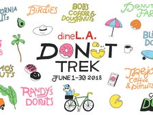 dineL.A. Donut Trek June 1-30, 2018