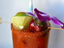 House-Charred Bloody Mary at Lunetta All Day