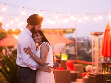 A couple gets engaged at Yamashiro