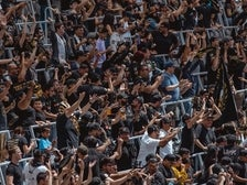 LAFC fans at Banc of California Stadium