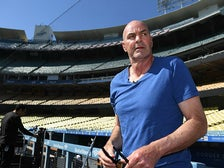 Kirk Gibson at Dodger Stadium, March 2018