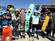 Kids at Venice Beach Skate Park