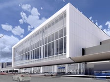 Rendering of American Airlines LAX Terminal exterior
