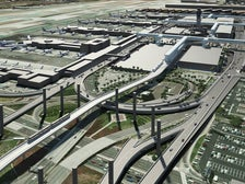 Rendering of the Automated People Mover at LAX