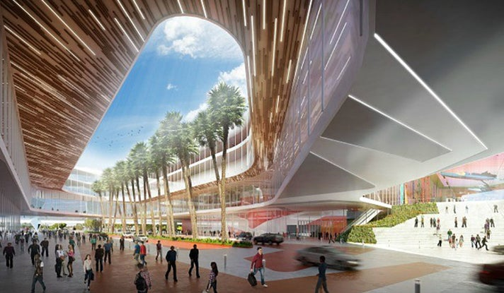 Los Angeles Convention Center Rendering.