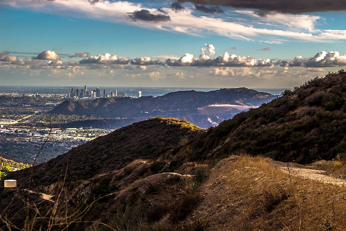 View from Stough Canyon in Burbank