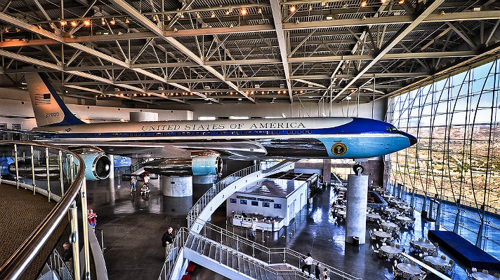 Air Force One Pavilion at Ronald Reagan Presidential Library