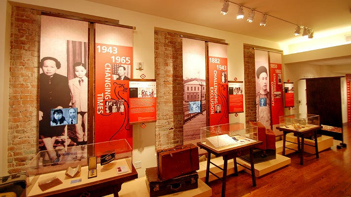 """Breaking Ground"" exhibit at the Chinese American Museum"