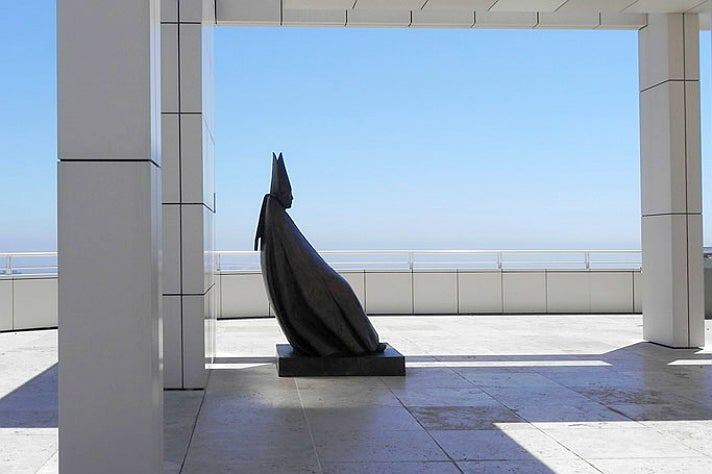 "Giacomo Manzù - ""Cardinale Seduto"" at Getty Center"
