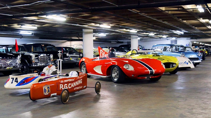The Vault at Petersen Automotive Museum