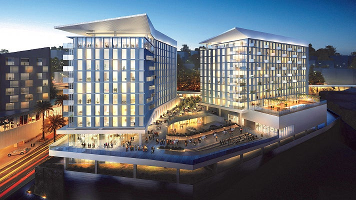 Rendering of The James West Hollywood