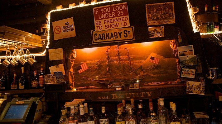 HMS Bounty in Koreatown