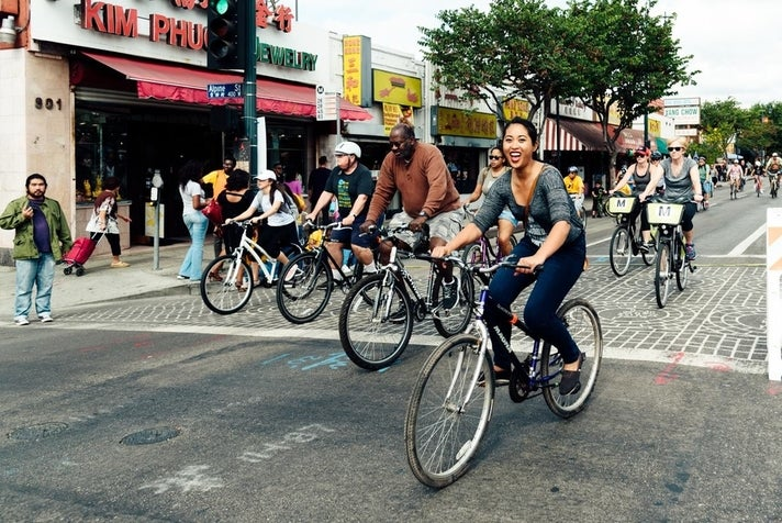 CicLAvia: Heart of L.A. at Chinatown