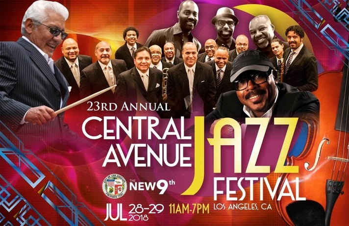 23rd annual Central Avenue Jazz Festival