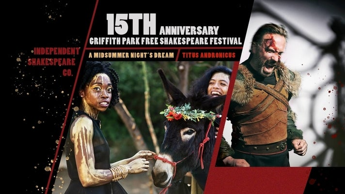 15th Anniversary Independent Shakespeare Co. at Griffith Park