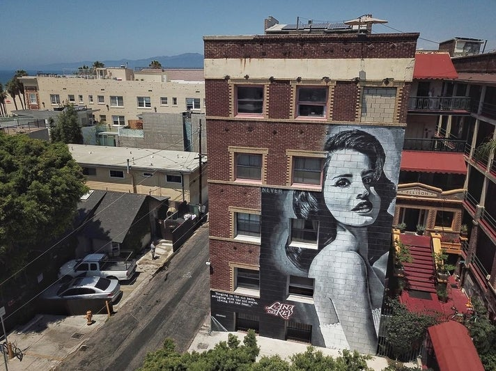 Lana Del Rey by Jonas Never at The Ellison Suites