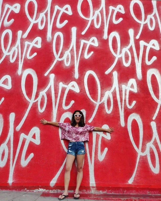 Love Wall by Curtis Kulig at Smashbox Studios in Culver City