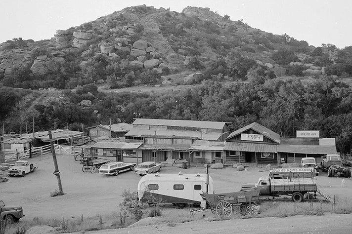 Spahn Ranch, home of the Manson Family, ca. 1969-70