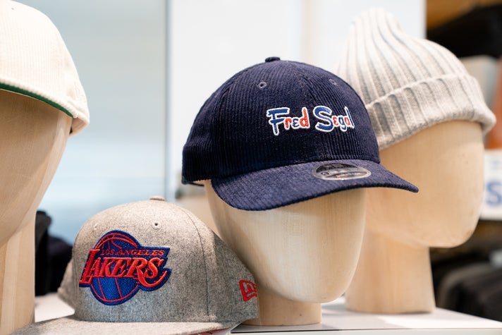 Fred Segal Corduroy Low Profile 9FIFTY Snapback at LAX