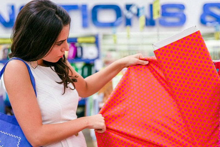 Fabrics and notions at L.A. Fashion District