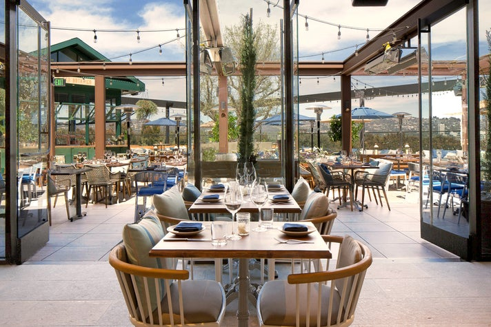 Terrace Space at Westfield Century City