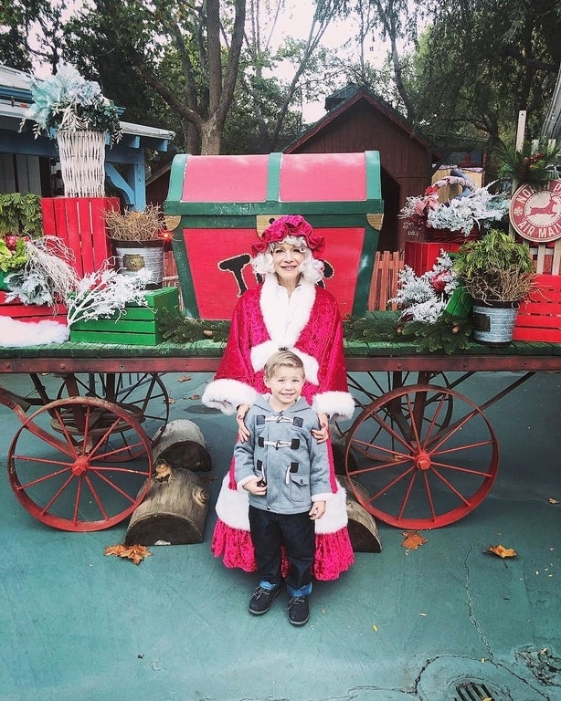 Mrs. Claus at Six Flags Magic Mountain