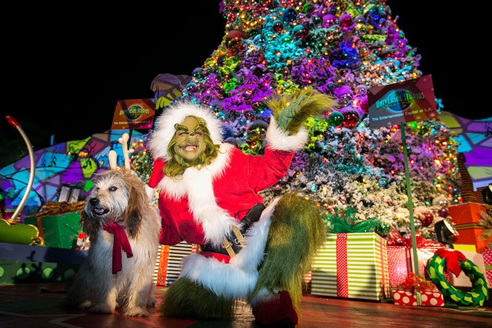 Grinchmas™ with The Grinch™ and Max at Universal Studios Hollywood
