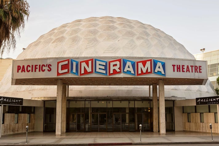 Cinerama Dome at ArcLight Hollywood