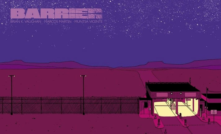 """Barrier"" #1 from Image Comics"