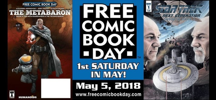Free Comic Book Day 2018 at Blastoff Comics