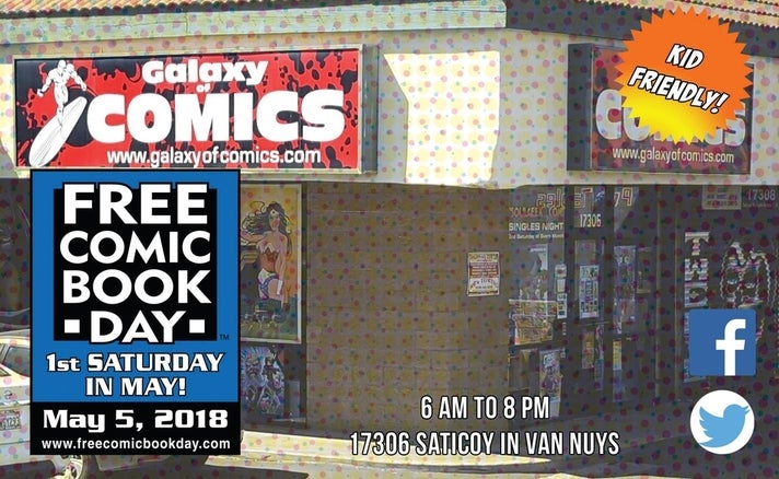 Free Comic Book Day at Galaxy of Comics