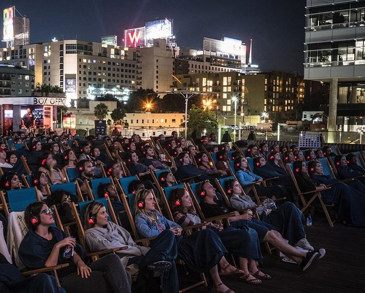 Rooftop Cinema Club at NeueHouse Hollywood