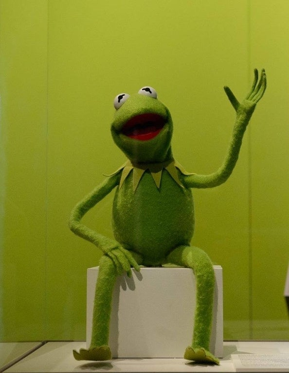 Kermit the Frog at Skirball Cultural Center