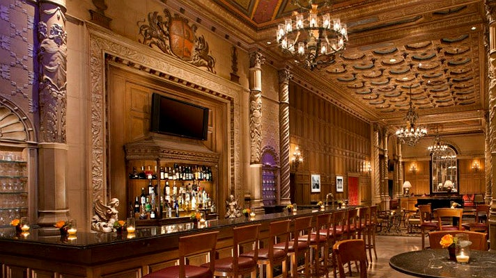 Gallery Bar and Cognac Room at the Millennium Biltmore