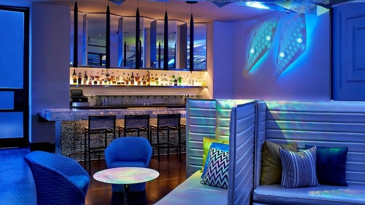 Living Room Bar at the W Los Angeles - West Beverly Hills