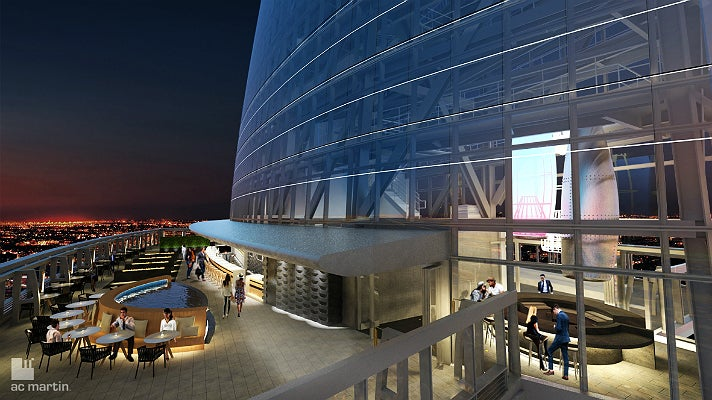 Rendering of Spire 73 at Wilshire Grand Center